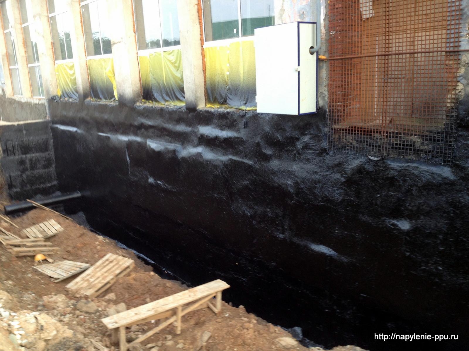 Гидроизоляция фундамента складского комплекса полиуретановый орнамент для украшения дверей