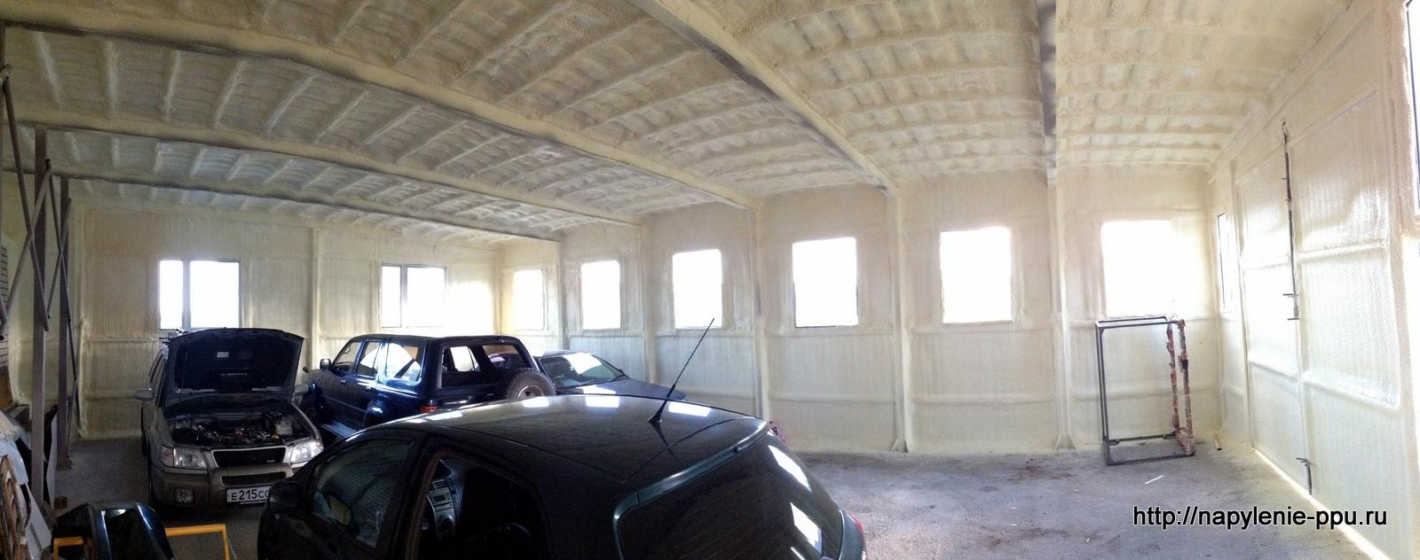 Теплоизоляция гаража! Экономия 70% тепла!