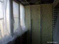 """Утепление балкона пенополиуретаном - ооо """"термострой-33"""" - н."""