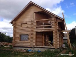 Утепление мансарды деревянного дома напылением пенополиуретана
